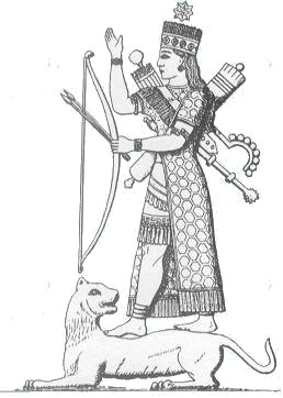 ishtar-lion