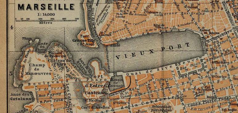 Plan Marseille 1914